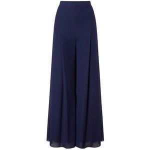 Jacques Vert Chiffon and Jersey Lined Trousers